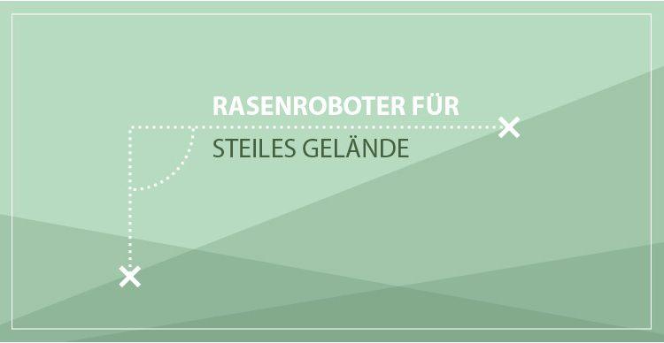 rasenroboter für steiles Gelände-Banner