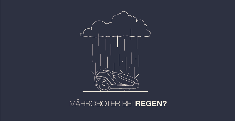 m hroboter bei regen banner rasenroboter info. Black Bedroom Furniture Sets. Home Design Ideas