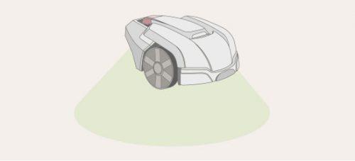 wie funktioniert ein rasenroboter-hebesensor