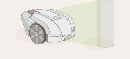 wie funktioniert ein rasenroboter-stossensor